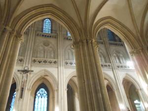 La cathédrale de Coutances.
