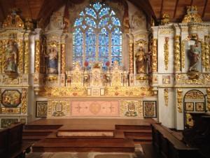 chapelle de Sainte Marie de Menez Hom